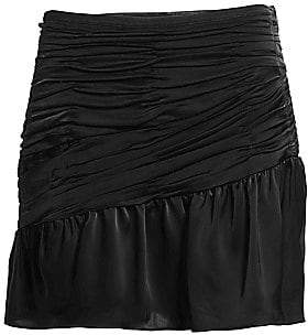 Ramy Brook Women's Ruched Mini Skirt