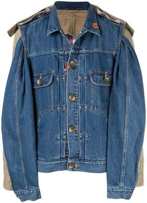Puma Maison Yasuhiro combined denim jacket