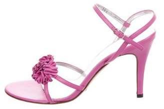 Dolce & Gabbana Leather Slingback Sandals