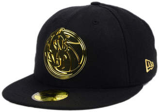New Era Dallas Mavericks Current O'Gold 59FIFTY Cap