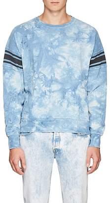 Remi Relief Men's Tie-Dyed Cotton Terry Sweatshirt