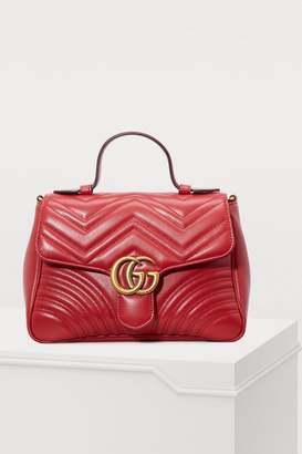 Gucci GG Marmont matelasse top handle bag