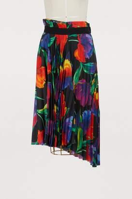 Balenciaga Asymmetric pleated skirt
