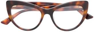 McQ Eyewear oversized cat eye glasses