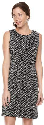 Ronni Nicole Women's Chevron Shift Dress