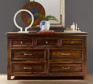 Pottery Barn Bowry Reclaimed Wood Extra Wide Dresser