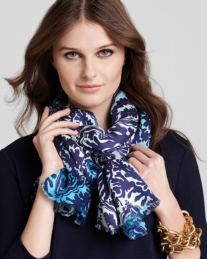 Lilly Pulitzer Sloane Satin Weave Scarf