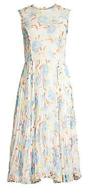 Jason Wu Collection Collection Women's Floral Chiffon Midi Dress - Size 0
