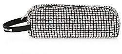 Alexander Wang Women's Large Rhinestone Leather Pencil Case