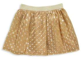 Imoga Toddler's, Little Girl's & Girl's Metallic Tulle Skirt