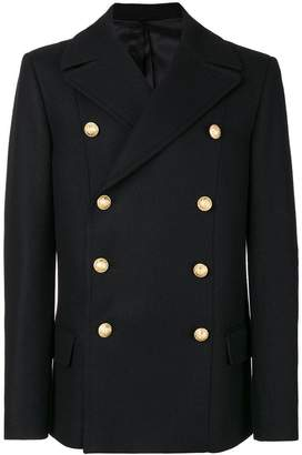 Balmain Caban Croise coat