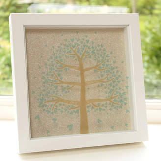 Dreams to Reality Design Ltd Personalised Family Tree Box Framed Print