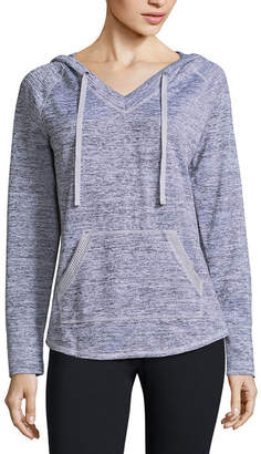 ST. JOHN'S BAY SJB ACTIVE Active Sweater Jersey Hoodie - Tall