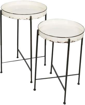 Casa Uno Nesting Tables Paysan Side Table (Set of 2)