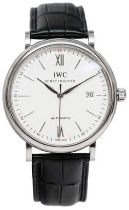 IWC Portofino IW356501 Automatic Silver Dial Men $4,500 thestylecure.com