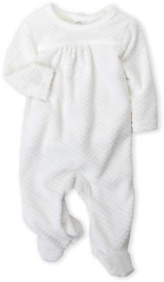 Baby Essentials Baby Dove (Newborn) Chevron Quilted Footie