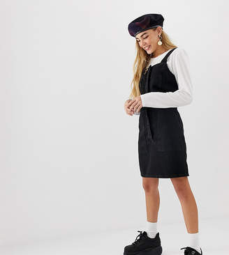 Reclaimed Vintage inspired denim pinafore dress