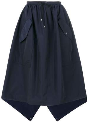 Kenzo flap pocket full skirt