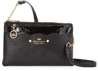 Juicy Couture Black Ride The Wave Mini Crossbody