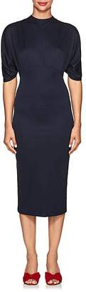 Prada Women's Jersey Fitted Midi-Dress