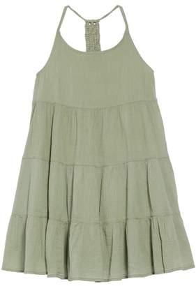 Tucker + Tate Macrame Tiered Dress (Big Girls)