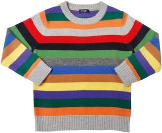 Il Gufo Striped Wool Knit Sweater