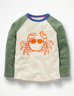 Boden Long-Sleeved Raglan T-shirt