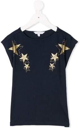 Little Marc Jacobs glitter star print T-shirt