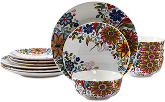 Tabletops Unlimited Lydia 12-Pc. Dinnerware Set