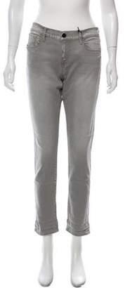 Frame High-Rise Straight Leg Jeans w/ Tags