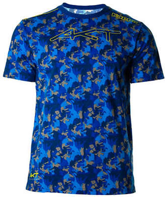 Kappa Camouflage Print Short Sleeve T-Shirt