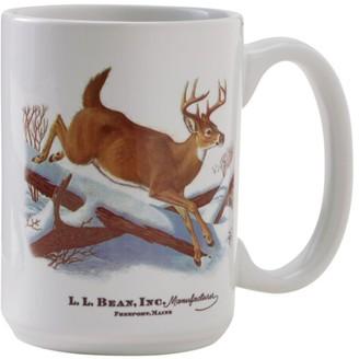 L.L. Bean L.L.Bean MIF and W Ceramic Mug, White-Tailed Deer
