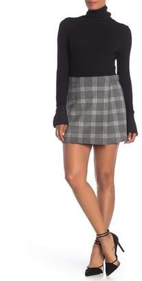 Theory Westport Snap Mini Skirt