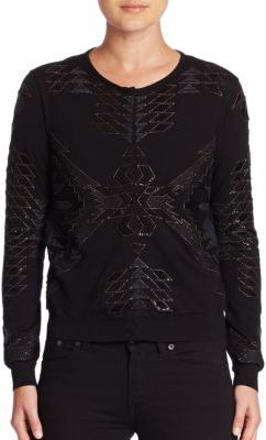 Ralph Lauren Collection Beaded Wool Cardigan $2,990 thestylecure.com
