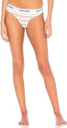 Calvin Klein Underwear Modern Cotton Pride Thong