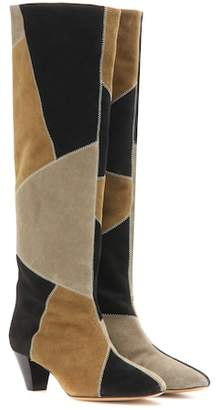Isabel Marant Ross suede knee-high boots