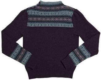 Ralph Lauren Cotton And Wool Crewneck Sweater