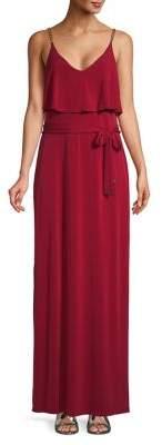 MICHAEL Michael Kors Chain Strap Maxi Dress