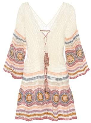 Anna Kosturova Carly crochet minidress