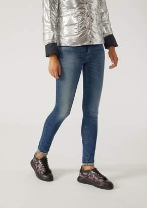 Emporio Armani Super Skinny J06 Stonewashed Jeans