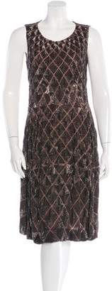Vionnet Silk Sequin Dress