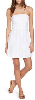 Socialite Strapless Tie Back Dress