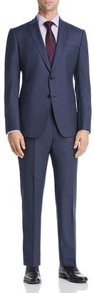 Giorgio Armani Micro-Checked Virgin Wool Slim Fit Suit
