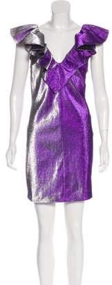 Pinko Ruffled Mini Dress