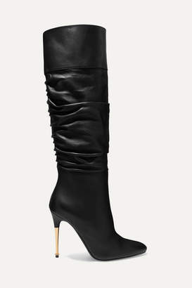 Tom Ford Leather Over-the-knee Boots - Black