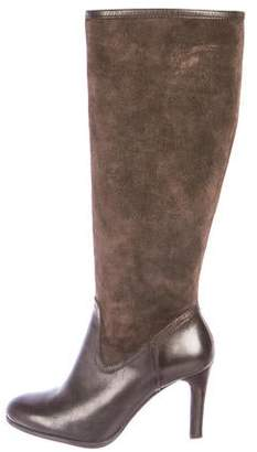 Lauren Ralph Lauren Suede Knee-High Boots