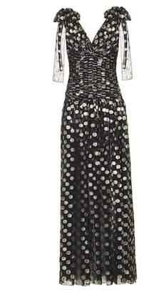 Dolce & Gabbana Fil coupé silk-blend gown