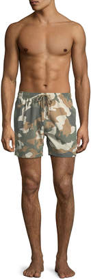 Wesc Zack Dead End Printed Swim Shorts