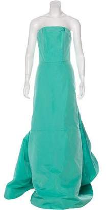 Christian Siriano Silk Strapless Gown w/ Tags