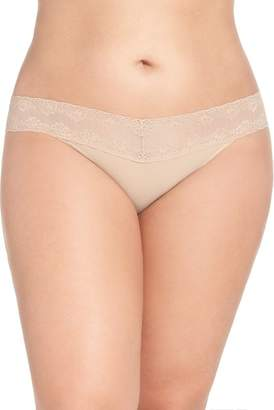 Natori Bliss Perfection Thong (Plus Size) (2 for $36)